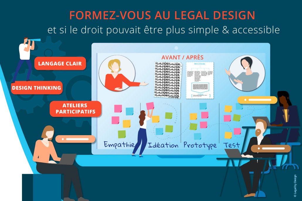 se former au legal design avec l'agence legal by design